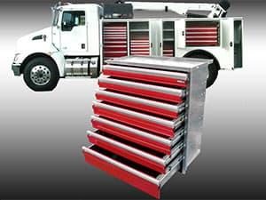 cabinet drawer units – grand truck equipment company