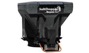 Tail Gate salt spreader by Buyers SaltDogg