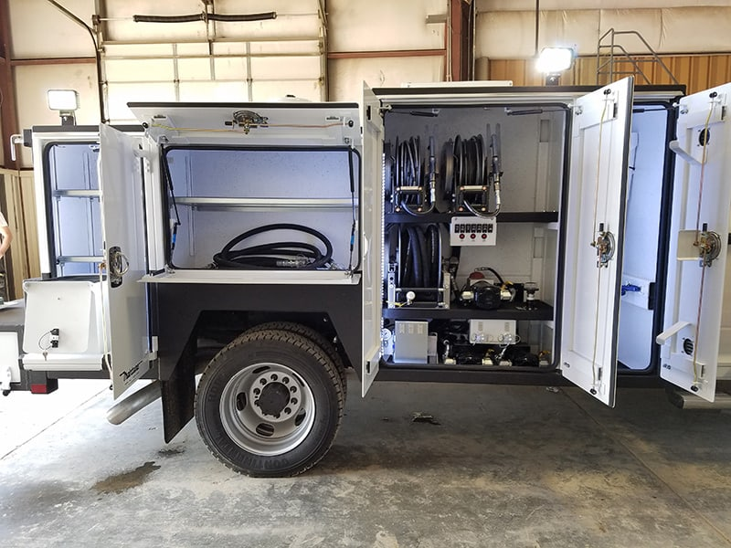 11' Maintainer Combo Service / Lube Body, oils & EVAC