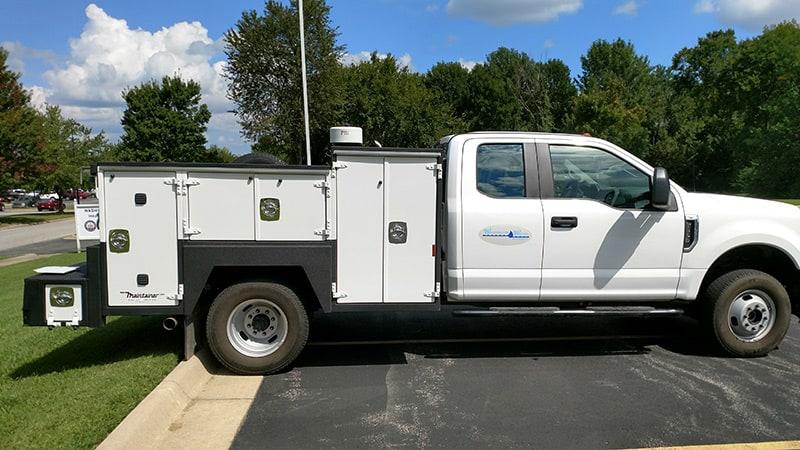 Unit #II122 - 9' Maintainer Service Body (Weld truck)