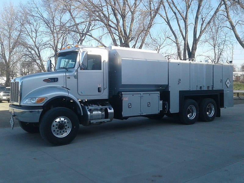Delivered truck
