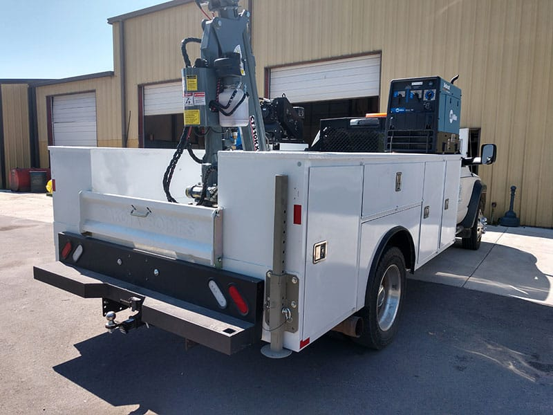 Grand Truck Equipment Dakota Crane CT310KX