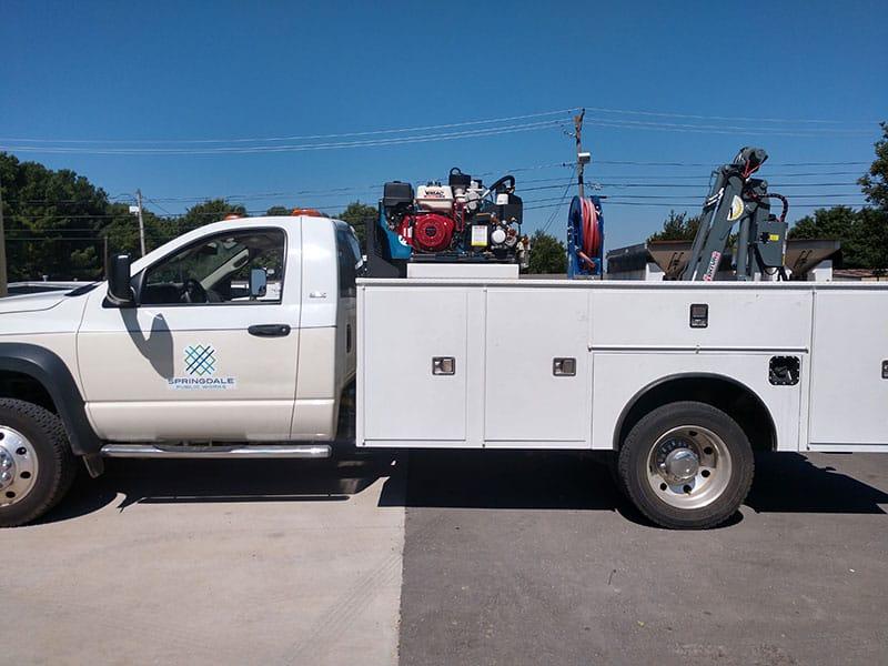 Grand Truck Equipment Dakota Crane view 2