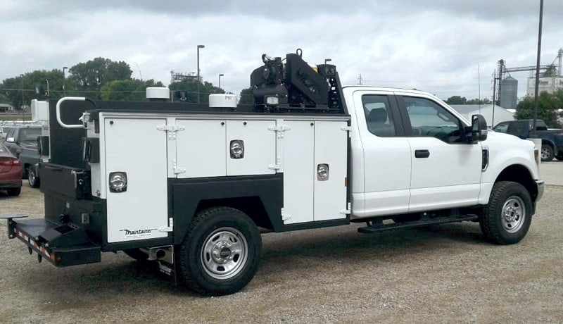 New Model Maintainer 1-Ton Service Body