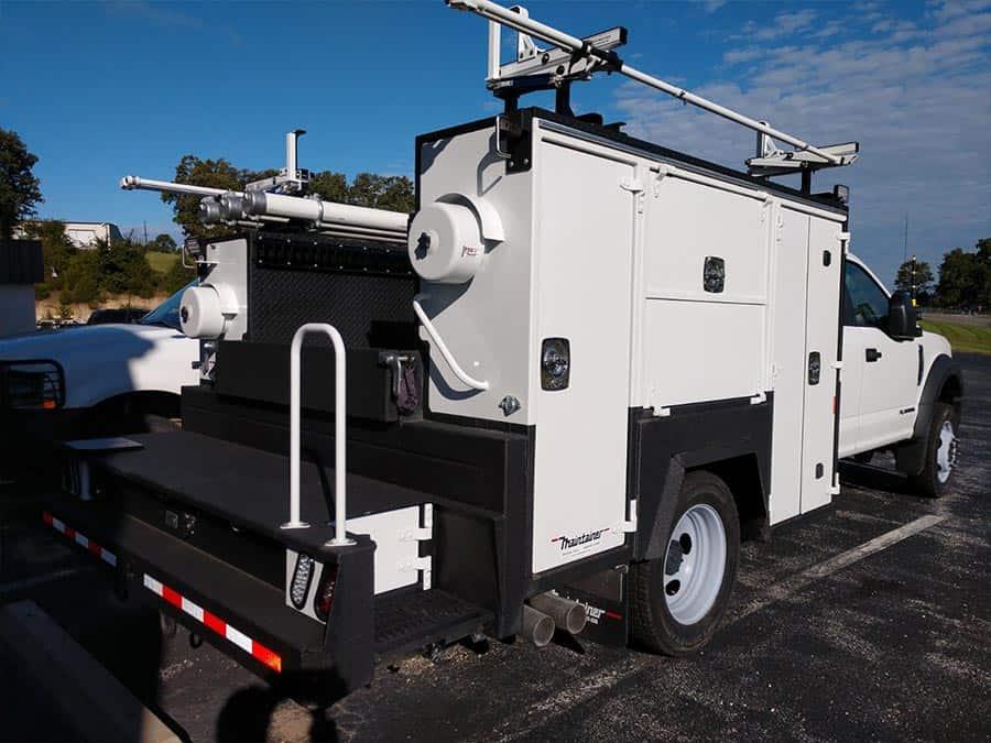 substation maintenance truck