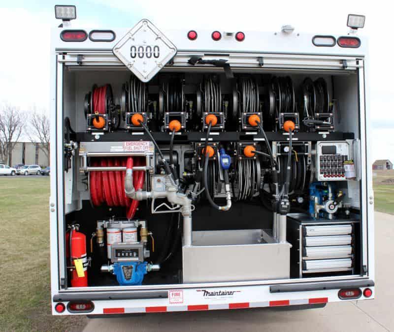 Maintainer Lube Truck