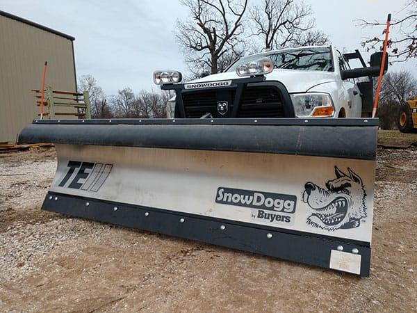 Snow Plow front