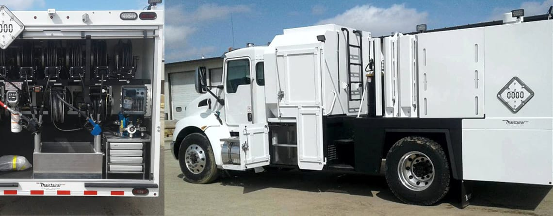 202295 New Model Maintainer 2-Ton Lube Truck