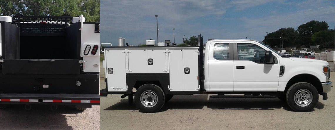 202587 New Model Maintainer All-Aluminum 1-Ton Service Body