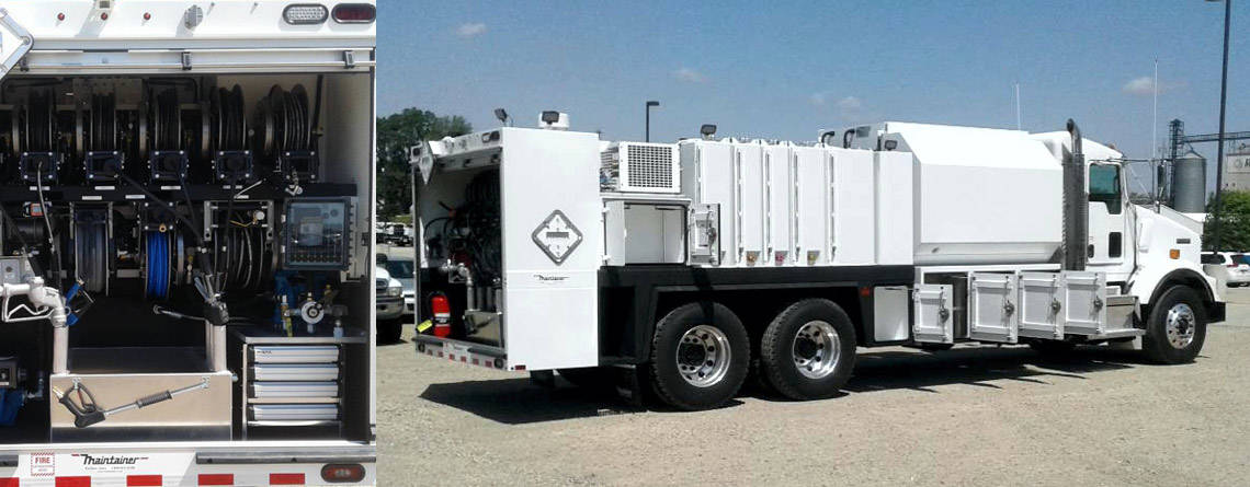 202290 New Model Maintainer 2-Ton Lube Truck